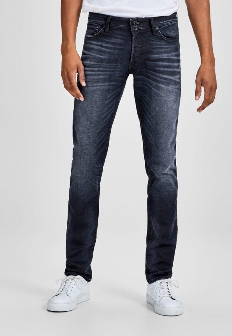 Jack & Jones - GLENN  - Slim fit jeans - blue denim
