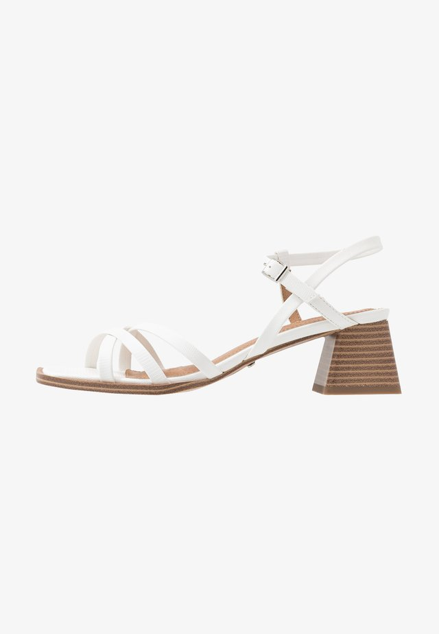 DIVINE BLOCK - Sandals - white