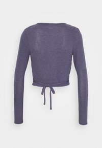 BDG Urban Outfitters - COZY BALLET WRAP - Strikkegenser - purple - 1