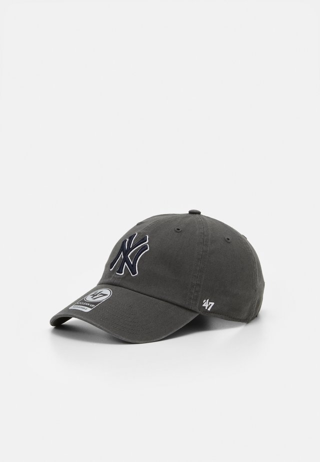 NEW YORK YANKEES CLEAN UP UNISEX - Casquette - charcoal