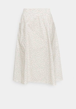 QIA SKIRT - A-linjainen hame - white light