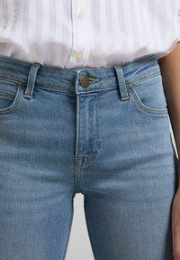 Lee - MARION  - Straight leg jeans - light blue - 4