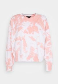 New Look - TIE DYE  - Sweatshirt - mid pink - 3