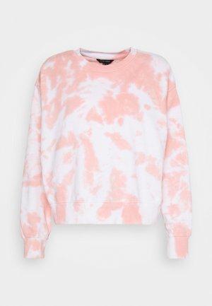 TIE DYE  - Sweatshirt - mid pink
