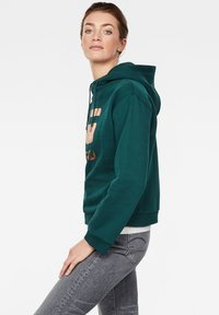 G-Star - GRAPHIC LYNAZ HOODED - Hoodie - green - 2