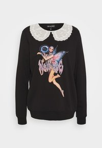 NEW girl ORDER - COLLAR PIXIE - Sweatshirt - black - 4