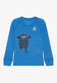 ODLO - CREW NECK WARM TREND  - Långärmad tröja - directoire blue - 0