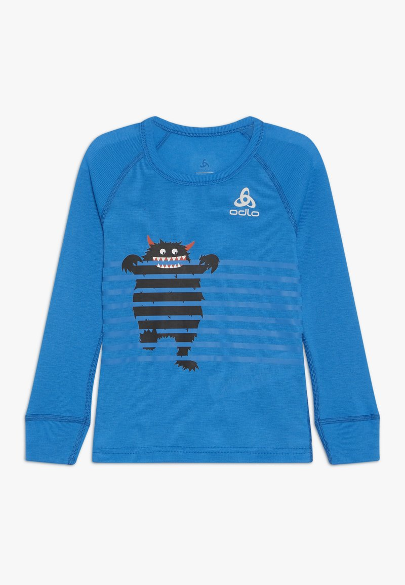 ODLO - CREW NECK WARM TREND  - Långärmad tröja - directoire blue