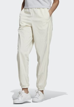 CUFFED SPORTS INSPIRED PANTS - Træningsbukser - owhite