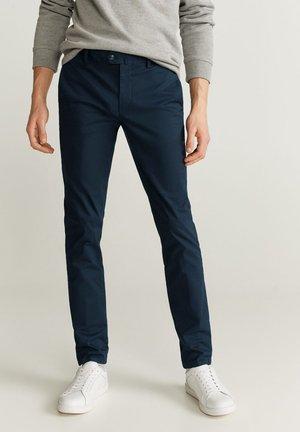 DUBLIN - Chino kalhoty - dunkles marineblau