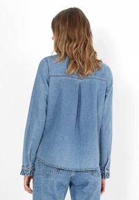 Scalpers - Button-down blouse - blue - 1