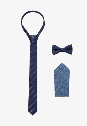 JACNECKTIE GIFT BOX - Pocket square - navy blazer