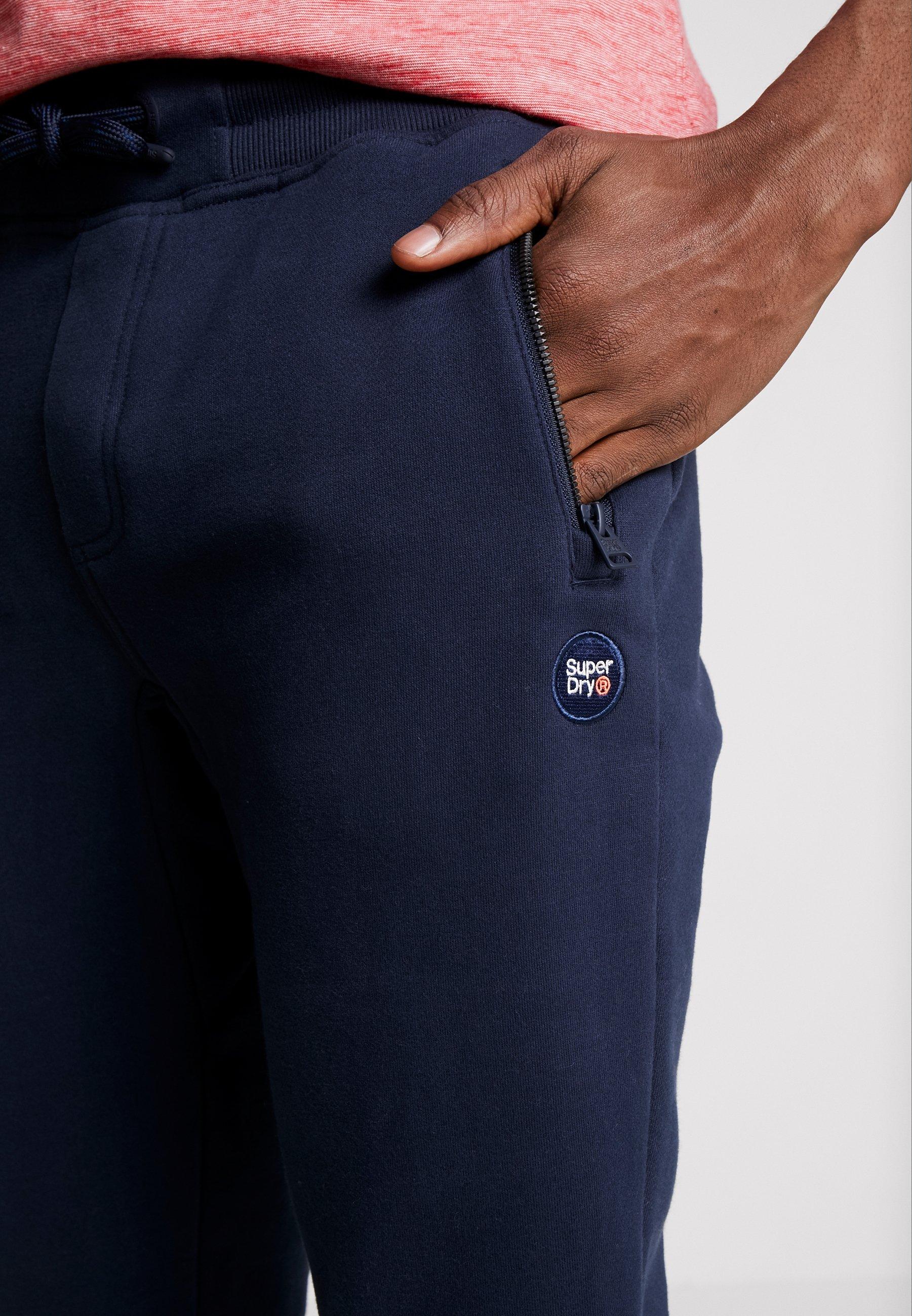 Superdry COLLECTIVE - Pantalon de survêtement - darkest navy