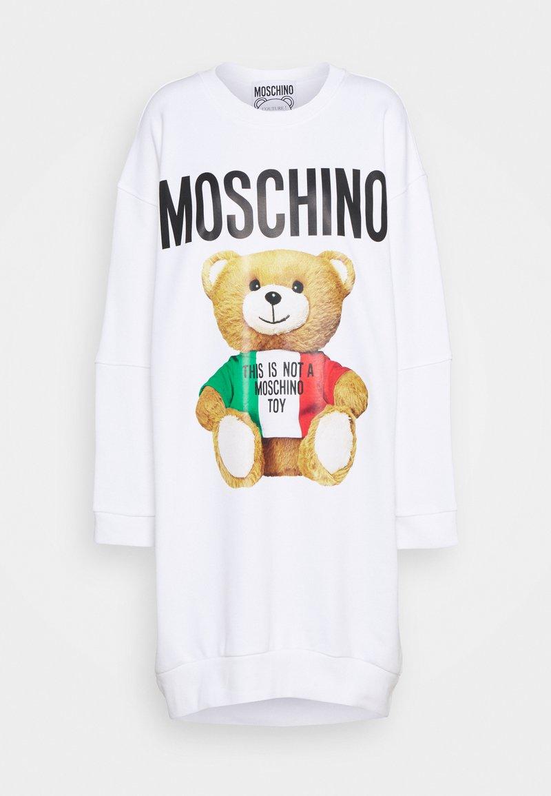 MOSCHINO - DRESS - Day dress - fantasy print white
