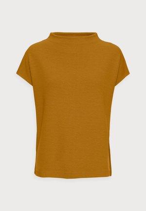 KITTUA STRUCTURE - Print T-shirt - cinnamon