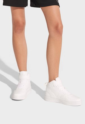 MIT KLETTBAND - High-top trainers - white