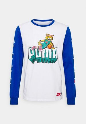 NBA 2K LONG SLEEVE - Long sleeved top - white