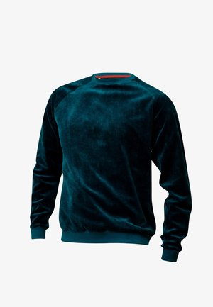 SVENINO - Sweatshirt - petrolblau