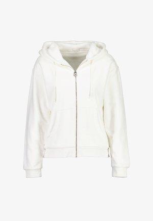 Fleece jacket - blanc cream