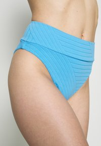 aerie - HI CUT CHEEKY PIECED - Bikiniunderdel - blue - 4