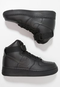 Nike Sportswear - AIR FORCE 1 - High-top trainers - black - 3