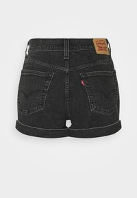 Levi's® - MOM LINE  - Shorts di jeans - black denim - 6