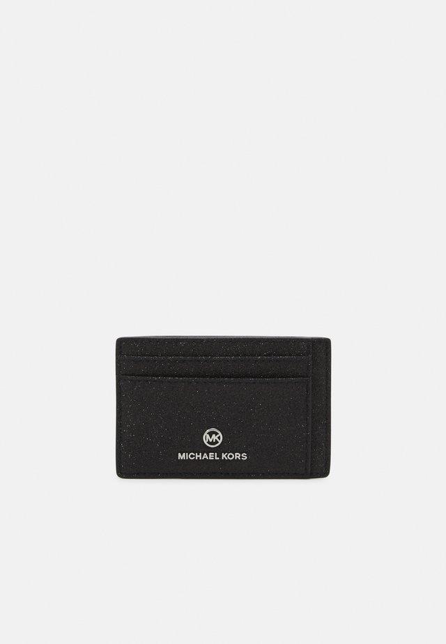 JET SET CARD CASE - Plånbok - black