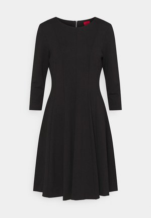 DIAMANDA - Jersey dress - black