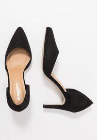 Glamorous Wide Fit - BOB - Escarpins à talons hauts - black - 3
