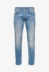 ONLY - ONMGREG - Slim fit jeans - light blue denim - 5