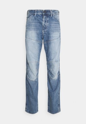 5620 3D ORIGINAL RELAXED TAPERED - Džíny Relaxed Fit - sun faded ice fog destroyed