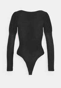 New Look - MINI PUFF SLEEVE BODY - Long sleeved top - black - 1