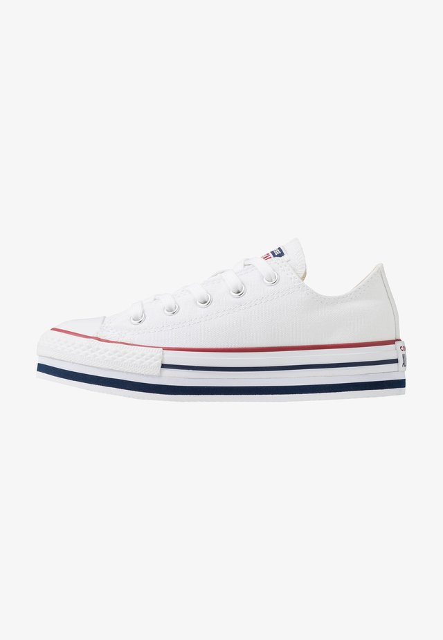 CHUCK TAYLOR ALL STAR PLATFORM  - Zapatillas - white/midnght navy/garnet