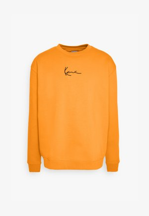 SMALL SIGNATURE CREW - Sweatshirt - orange