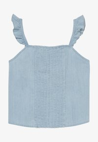 Abercrombie & Fitch - PIN TUCK MATCH  - Blouse - chambray - 3