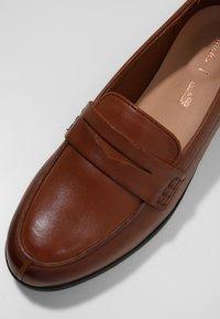 Clarks - HAMBLE  - Slip-ons - light brown - 6