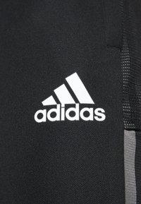 adidas Performance - JUVENTUS TURIN PANT - Klubbkläder - black - 4