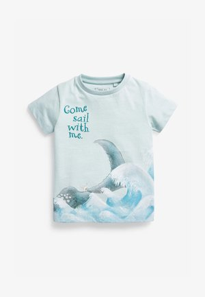 THE SNAIL AND THE WHALE - Print T-shirt - blue