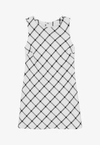 C&A - ARCHIVE - Day dress - white / black - 2