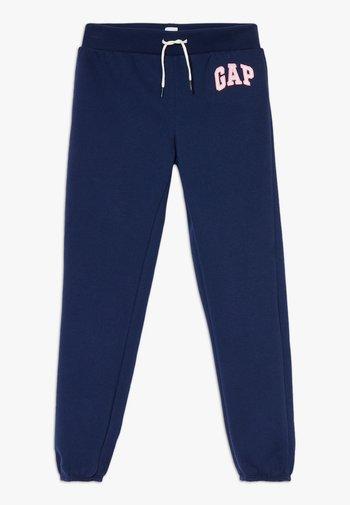 LOGO - Spodnie treningowe - elysian blue