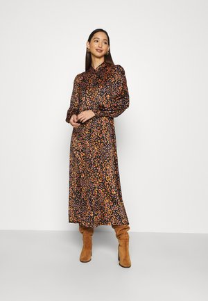 VMSANDRA LILLIAN SHIRT DRESS  - Shirt dress - black