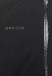 Mammut - AYAKO TOUR HOODED JACKET MEN - Outdoorjas - black - 3