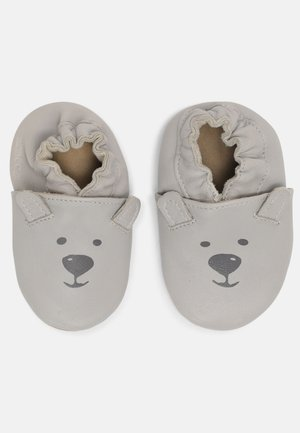 SWEETY BEAR UNISEX - First shoes - gris clair perm