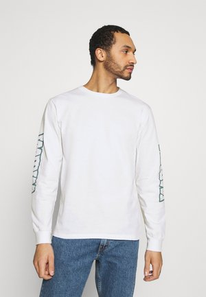 LONGSLEEVE UNISEX - Long sleeved top - white
