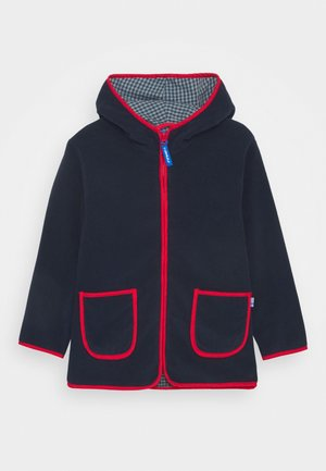 TONTTU UNISEX - Fleece jacket - navy/red