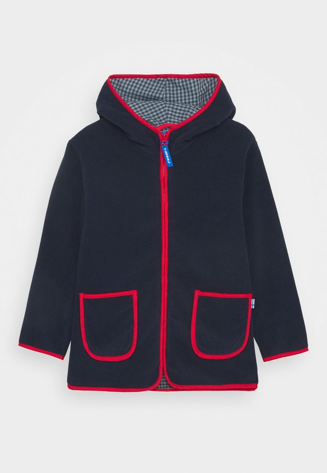 TONTTU UNISEX - Giacca in pile - navy/red