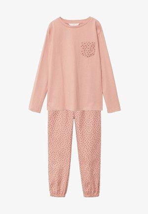 GINA - Pyjama set - rose pâle