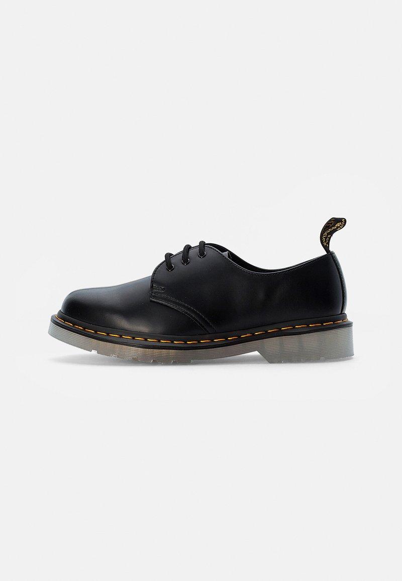 Dr. Martens - ICED - Volnočasové šněrovací boty - black smooth