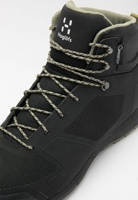 Haglöfs - L.I.M MID PROOF ECO  - Hiking shoes - true black - 5