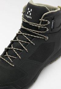 Haglöfs - L.I.M MID PROOF ECO  - Hiking shoes - true black - 5